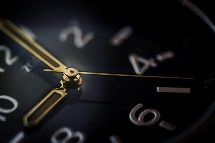 segundos en la gestión del tiempo