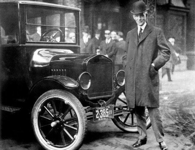 La inspiración de visionario Henry Ford