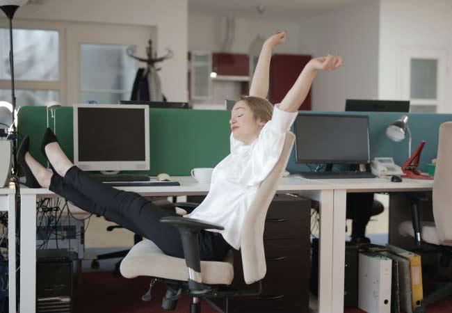 Pausas activas en el trabajo: Secreto para ser más productivo