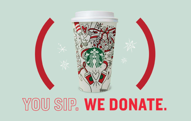 Starbucks marketing con causa
